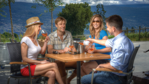 The Patio at Okanagan Crush Pad