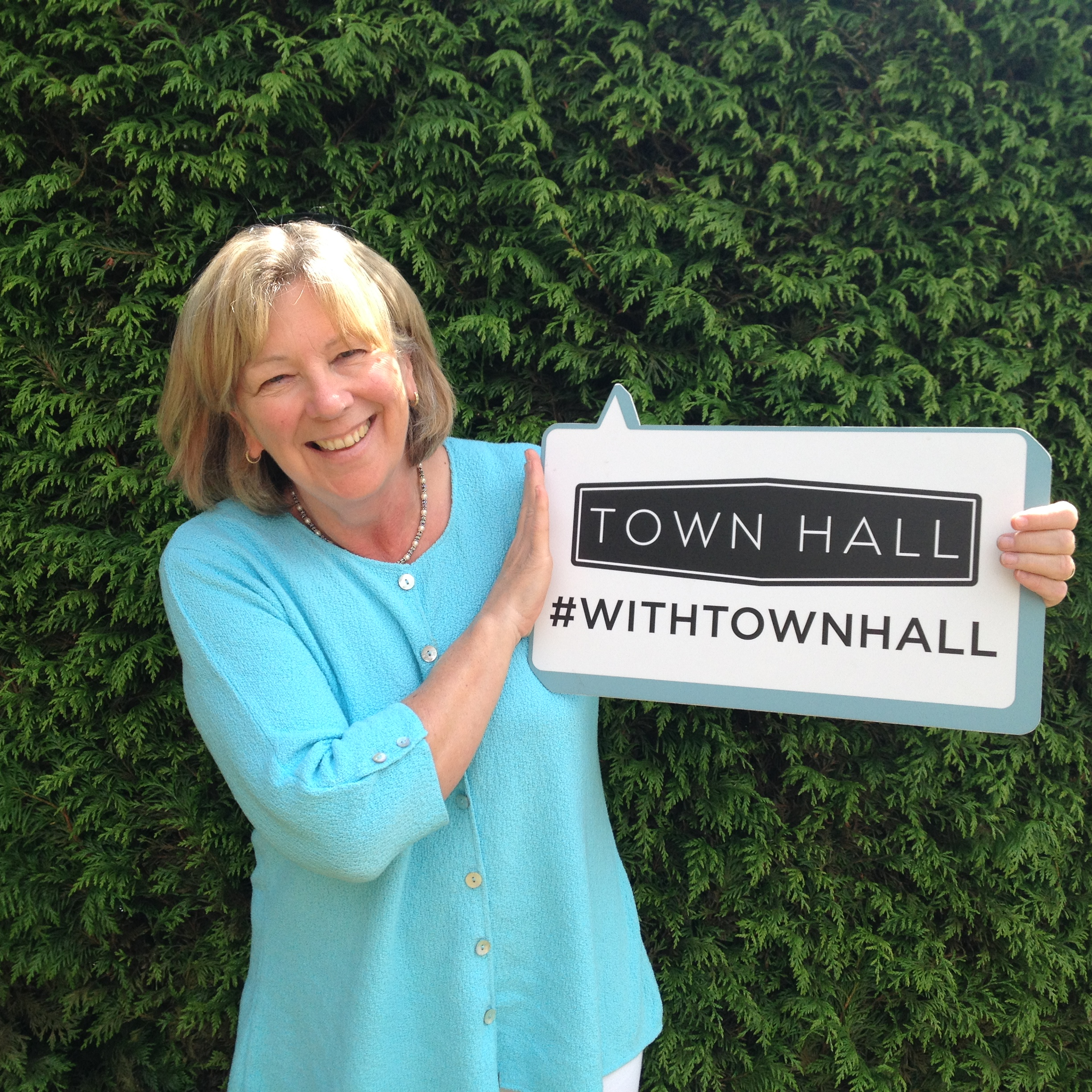 Judy Poole #withTownHall