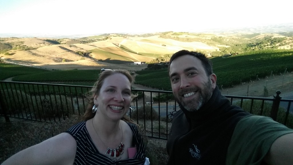 I get a #selfie with Sujinder at the top of the world in Paso Robles