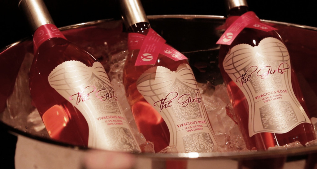Let's hear it for The Girls Wine - 100% proceeds to charity