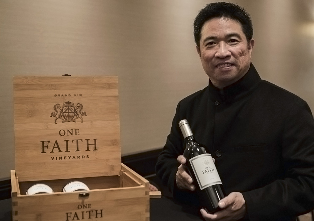 One Faith Vineyards founder and aspirational vintner, Bill Lui
