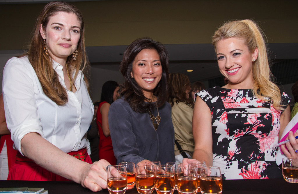 Lauren Mote, Sophie Lui and Natalie Langston enjoy Dish N Dazzle