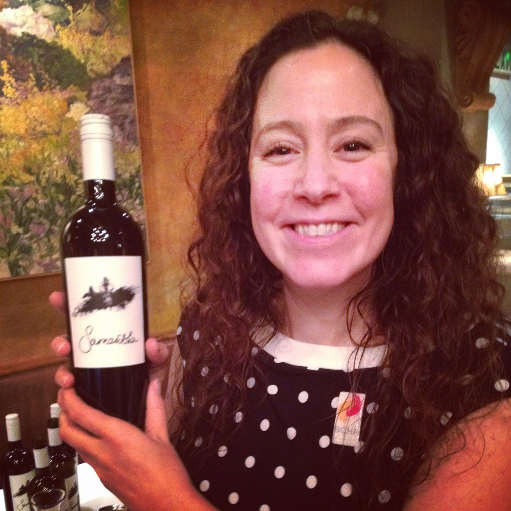 Samantha Rahn launches her Okanagan Crush Pad wine at CinCin