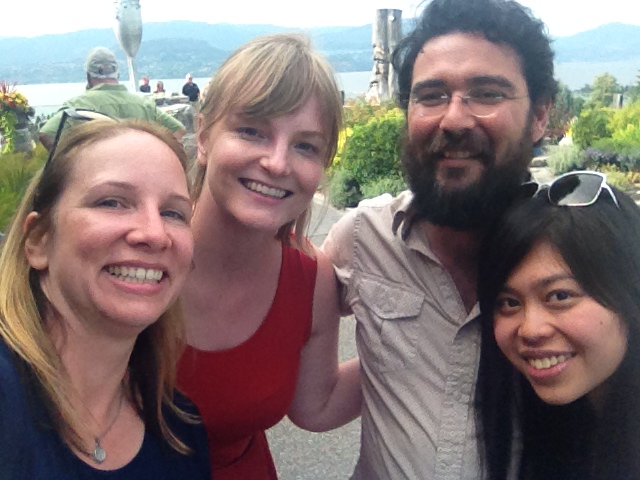 Of course a #selfie with Laurisha, Summerhill's Ezra Cipes and Amy