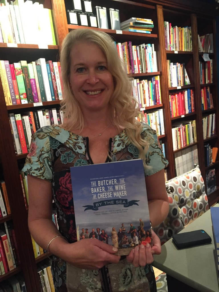 Jennifer Schell at her book release.