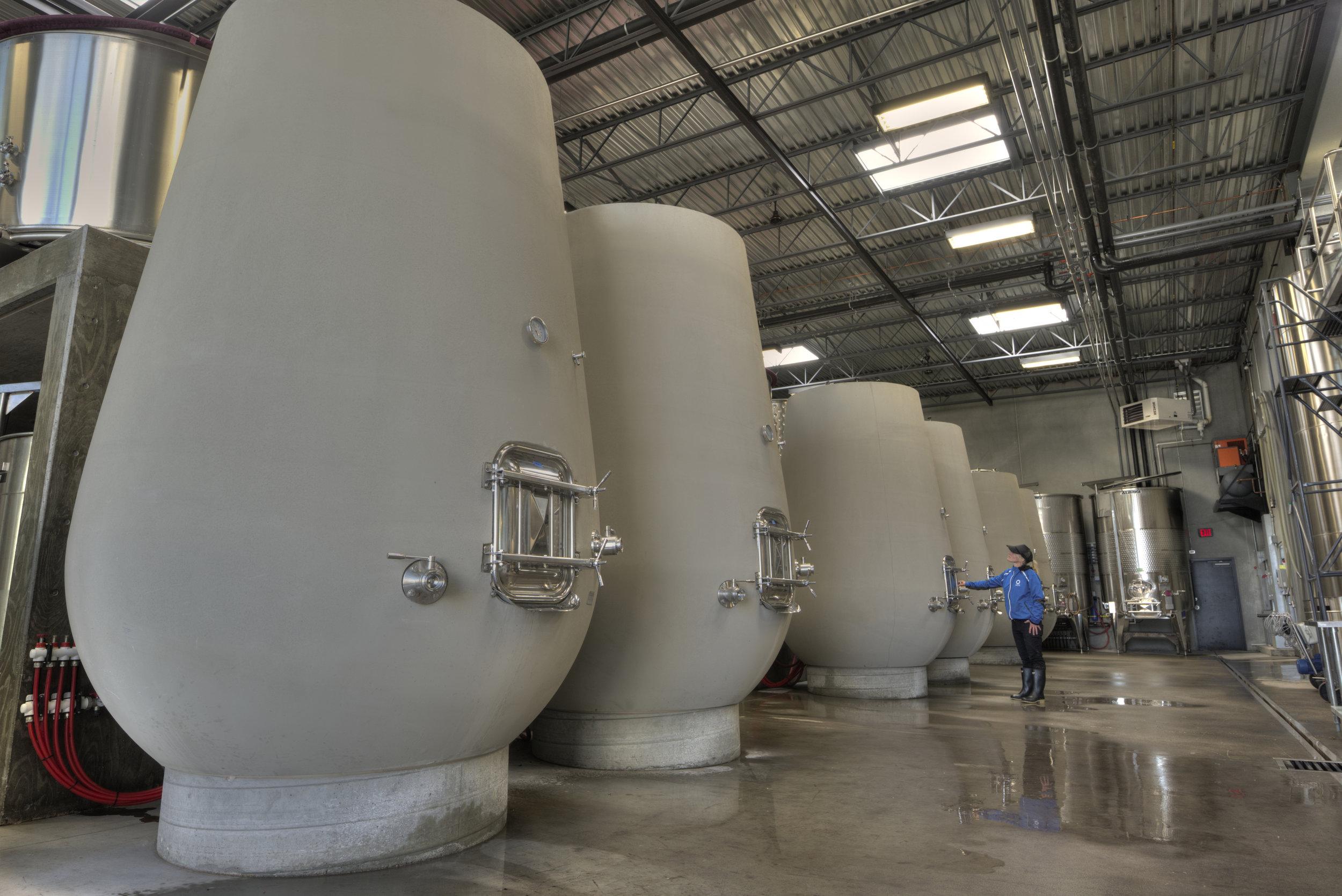 OCP-Concrete tanks Credit Lionel Trudel