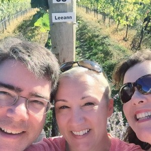 Triple threat! Robin, Linda Horn and friend make this an epic #row38selfie