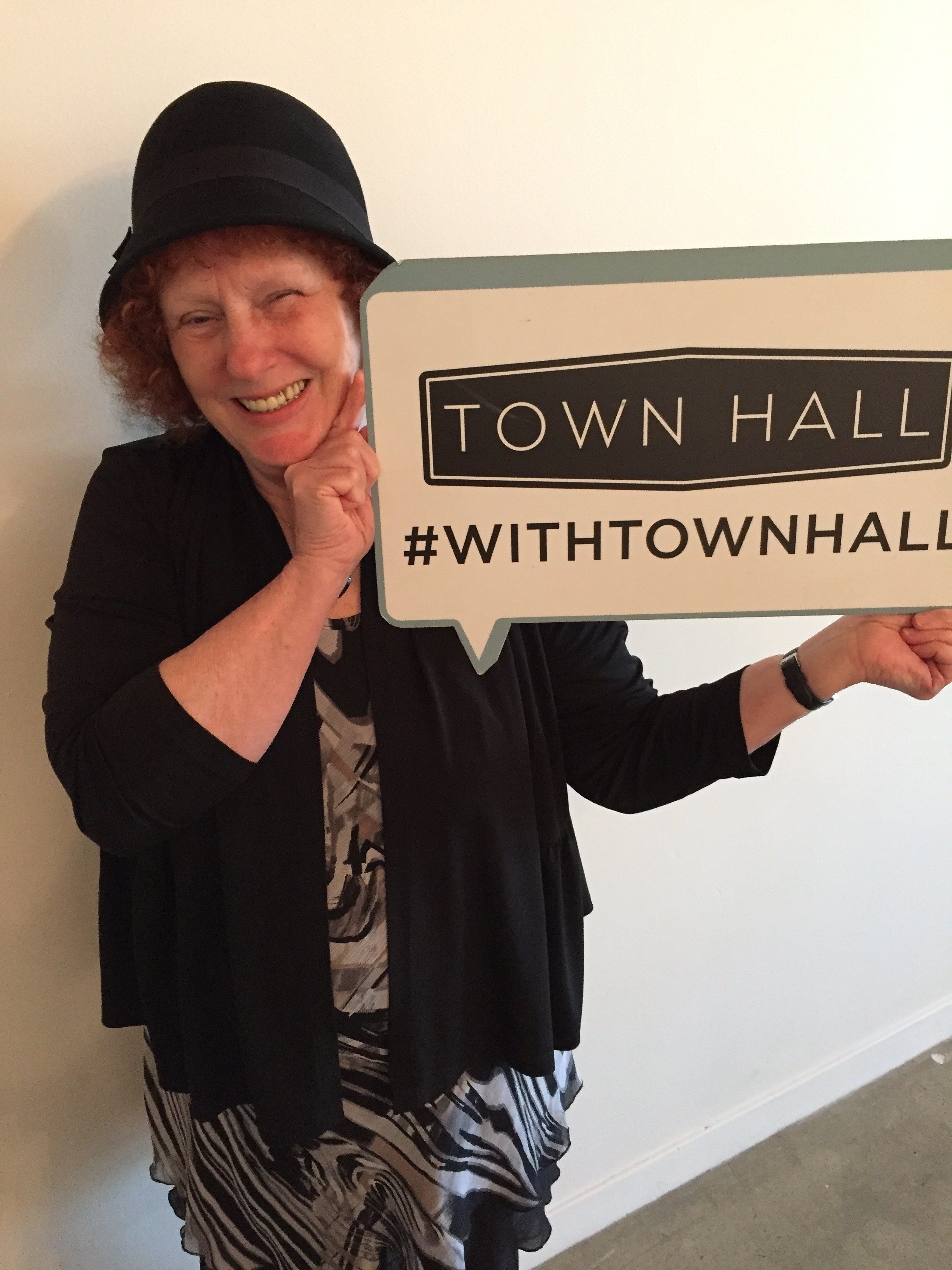 Cathy Brown withTownHall