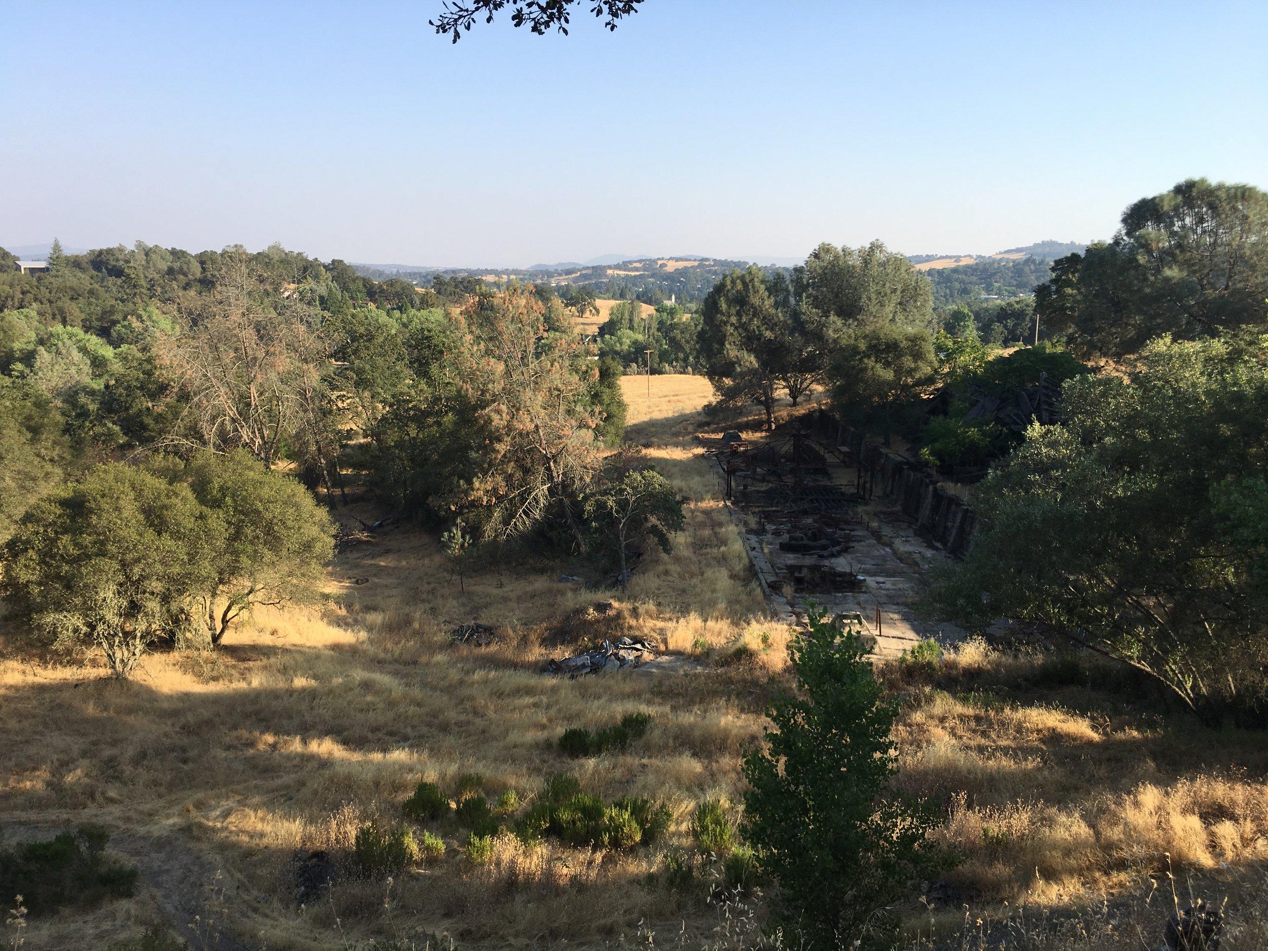 Amador County landscape