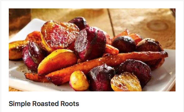 Simple Roasted Roots
