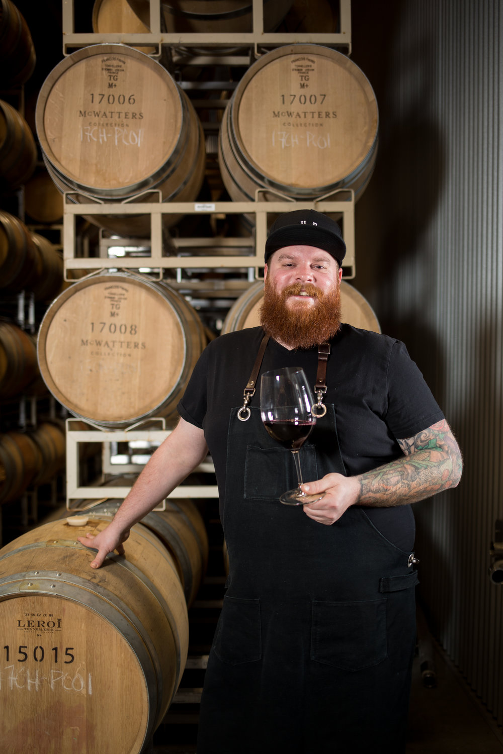 TIME Winery welcomes chef Alexander Keith Campbell (chef AK).