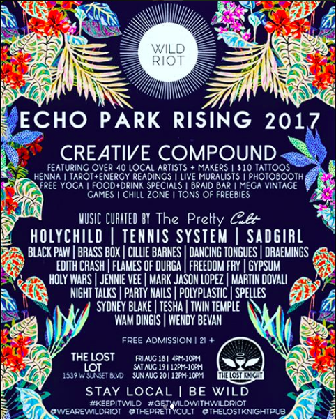 Wild Riot/Echo Park Rising