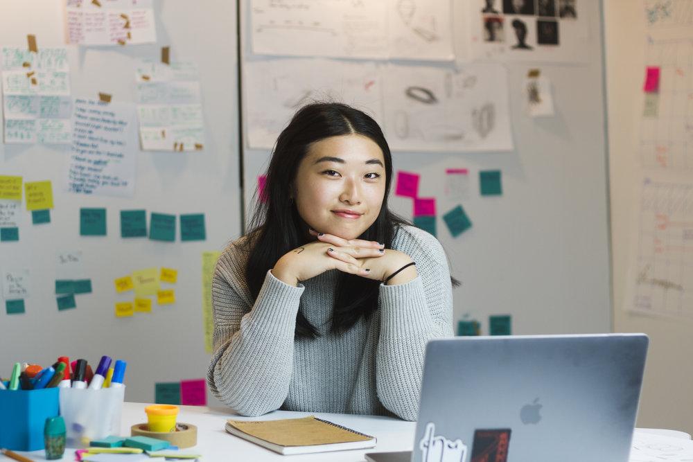 Sarah Zhang - Graphic designer