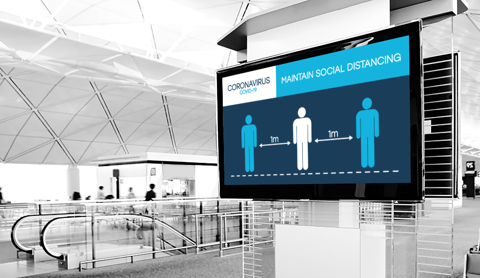 Digital Signage in a Post-Covid World | XOGO Digital Signage