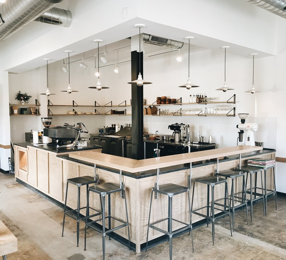 Basal Coffee - First Commercial project, in Charlotte NC!