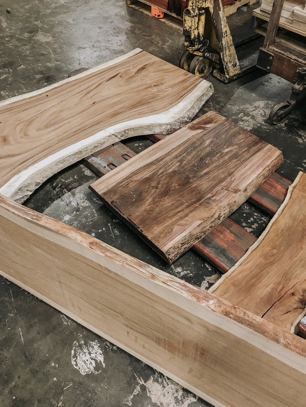 Rosewood co live edge slabs