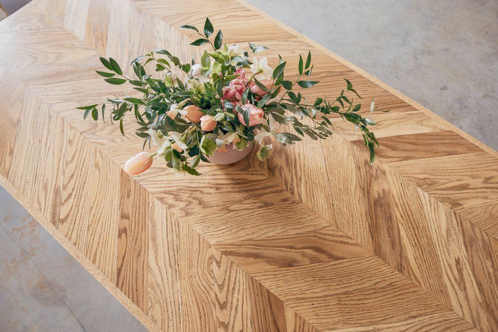Herringbone Tables -