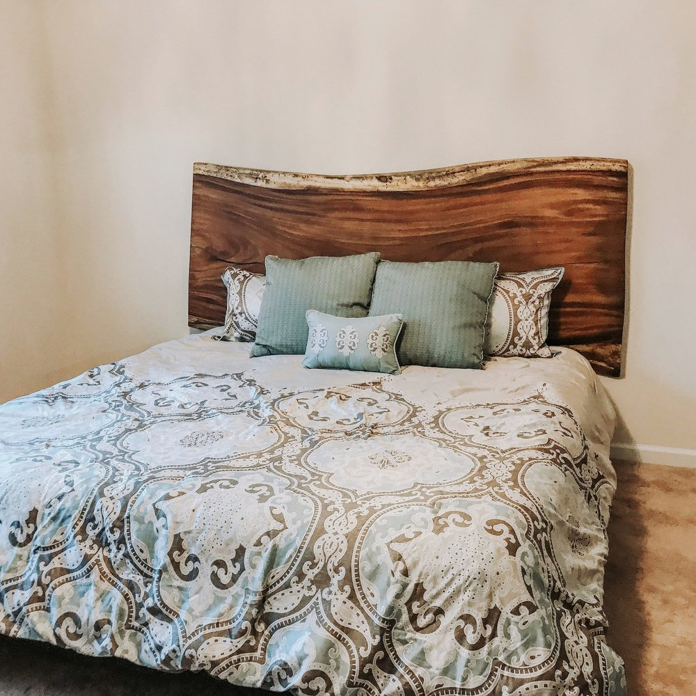 Live Edge Headboards - Taking custom orders now