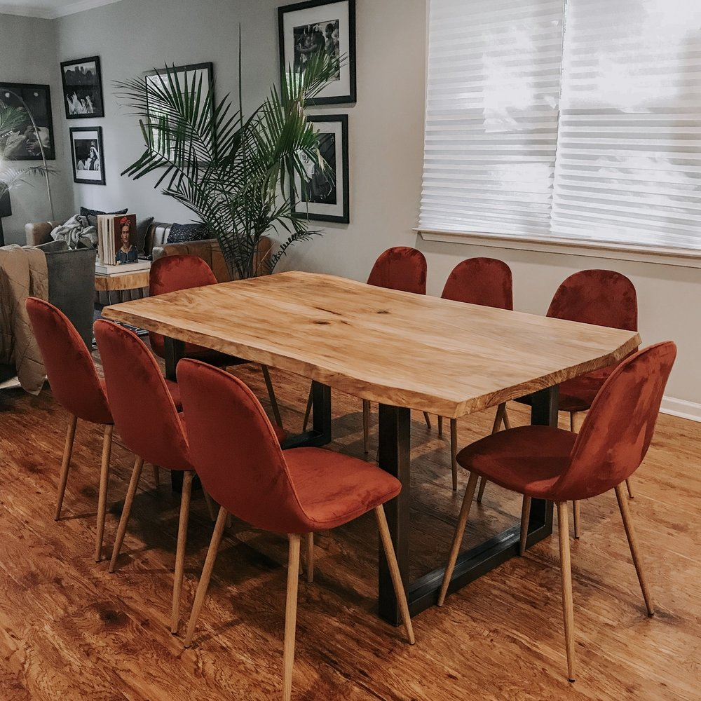 Species: Sycamore    Dining table