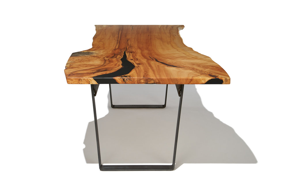 Rosewood co live edge dining table