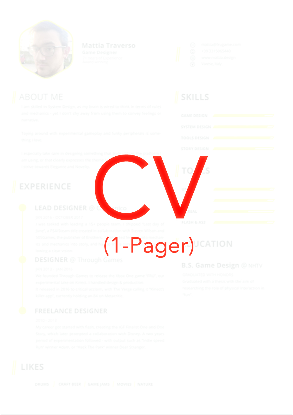 DOWNLOAD MY CV -