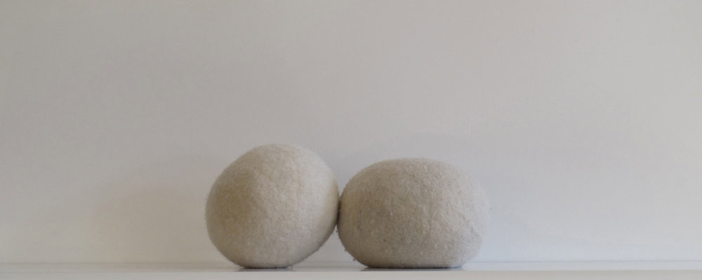 Untitled  Handfelted wool, weights  2012