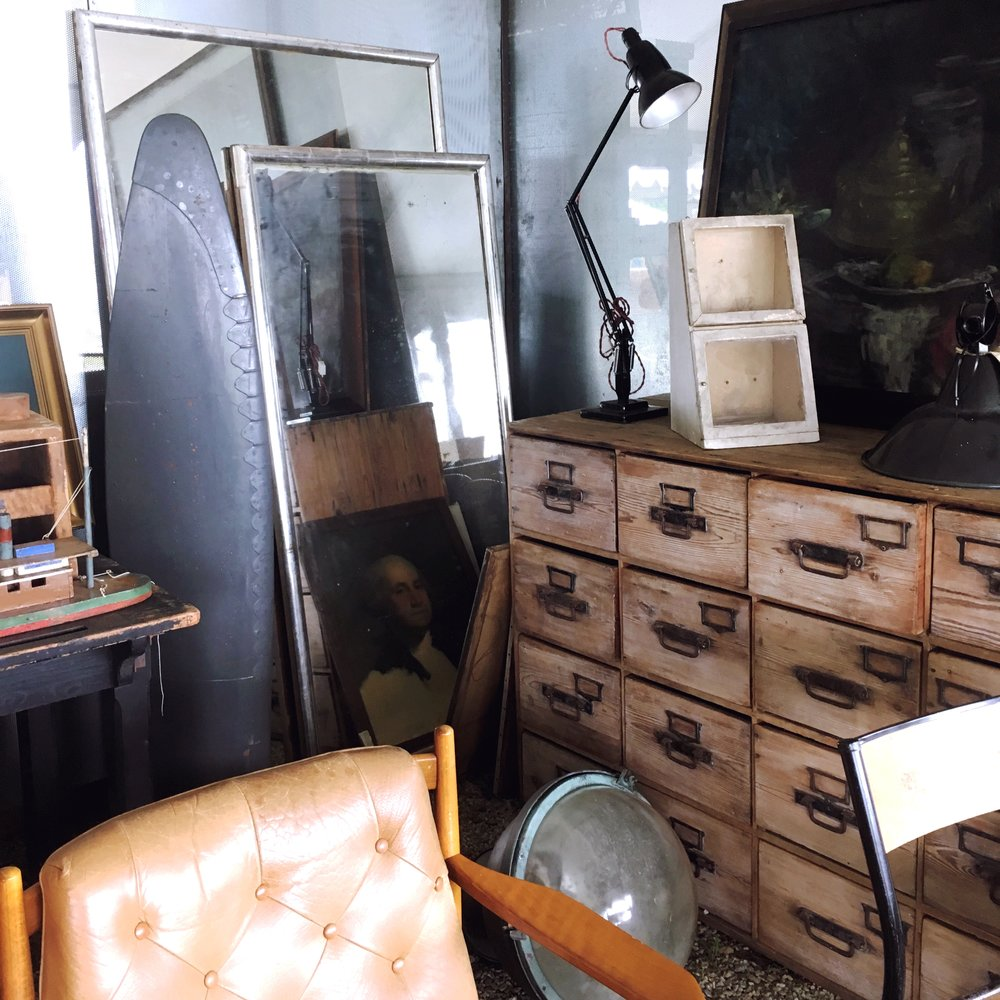 DESIGN BY -  ENEBY HOME  - BRIMFIELD ANTIQUE FLEA MARKET