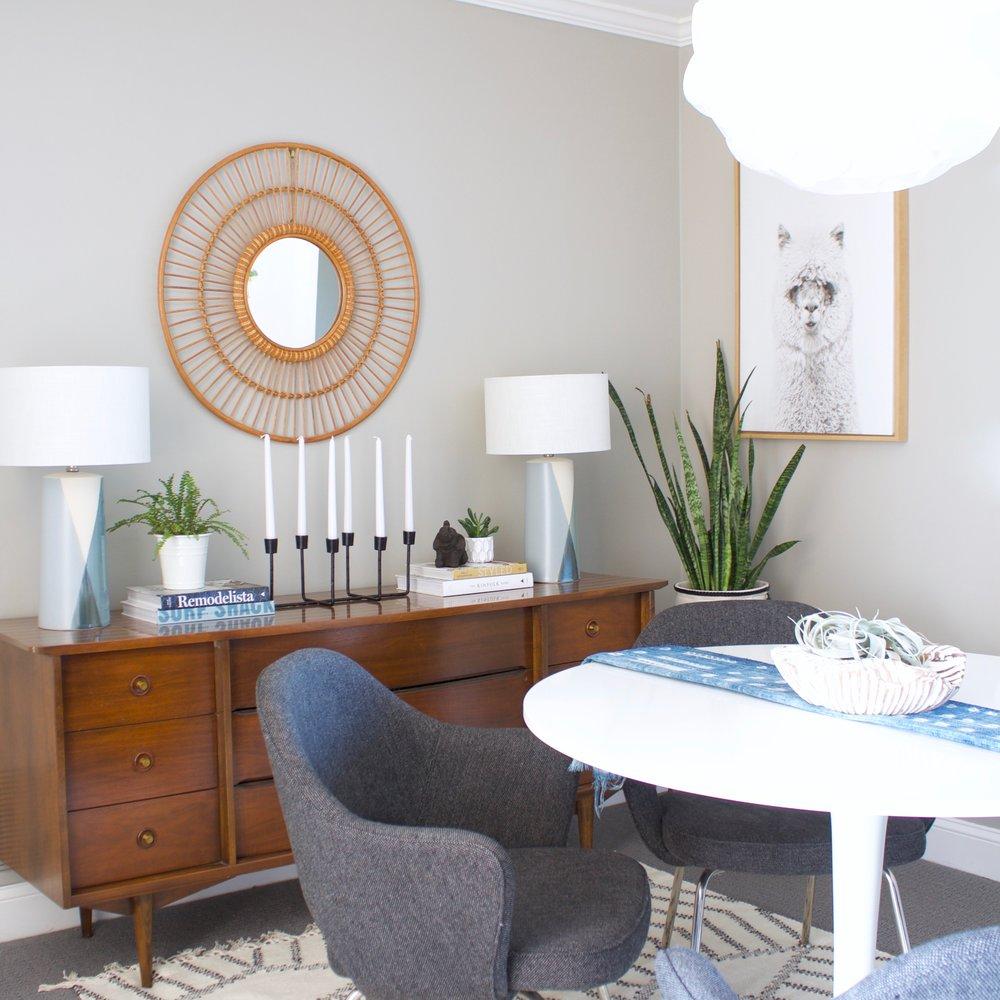 Mid-Century Modern Dining Room -