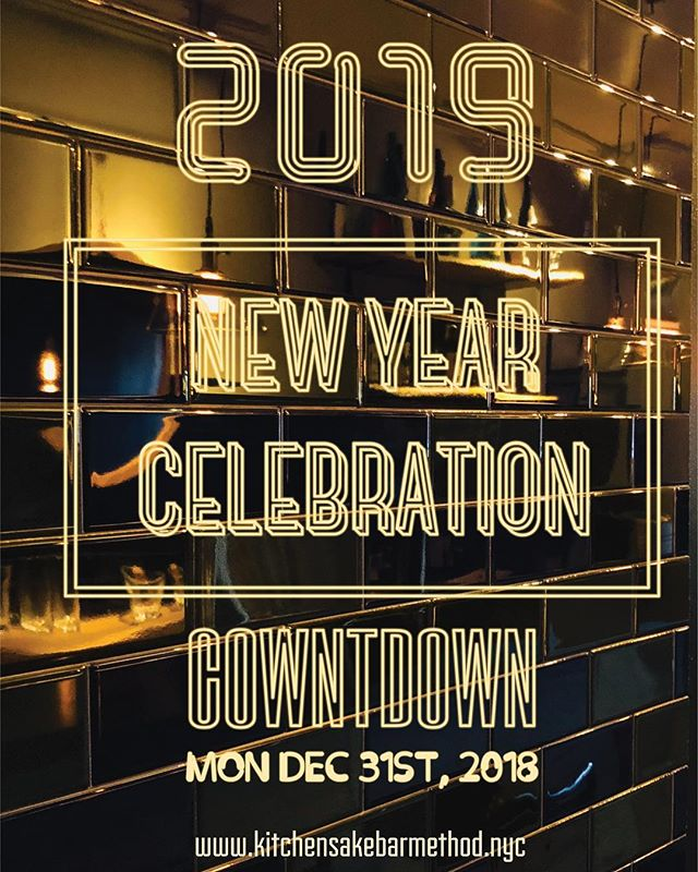 "NYE @methodnyc Come join us for the NYE countdown 🎉  Before midnight, you will receive complimentary ""Toshi-koshi Soba noodle"" and ""a glass of champagne"" 🥂  Let's celebrate together for the coming new year of 2019‼️ #methodnyc #chefhonma #hellskitchen #nyc #nye #newyearseve #countdownnye #countdown #japanese #japanesefood #japaneserestaurant #izakaya #sakebar #kanpai #food #foodie #foodstagram #instafood #foodiegram #newforkcity #buzzfeast #photography #photooftheday"
