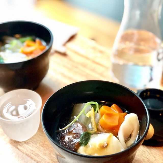 We'll be serving #ozoni Japanese traditional soup dish for New Year's until running out.  #newyear #happynewyear2019  #methodnyc #hellskitchen #nyc #japanese #japanesefood #japaneserestaurant #izakaya #sakebar #kanpai #food #foodie #foodstagram #instafood #foodiegram #newforkcity #buzzfeast #photography #photooftheday
