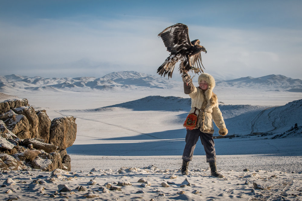 The actual Eagle Huntress