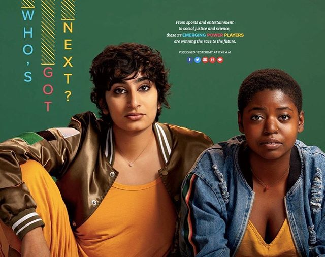 """🚀 @samb.chi and @asgharthegrouch included in the @chicagomag list of EMERGING POWER PLAYERS """"winning the race to the future"""" 📸 : @ryanschude . . #femaleartist #browngirls #webseries #digitalseries #film #chicagofilm #diversecasting #womeninfilm #femaledirector #femalewriters #poc #coakleypr"""