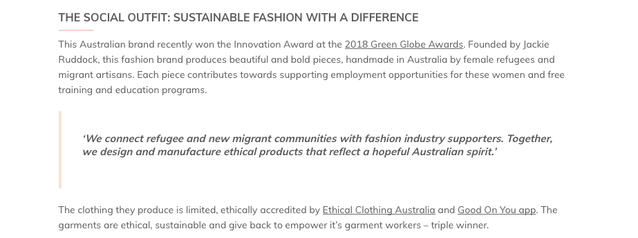 https://thegreenhubonline.com/2018/10/24/the-ethical-fashion-brands-giving-back-to-communities/
