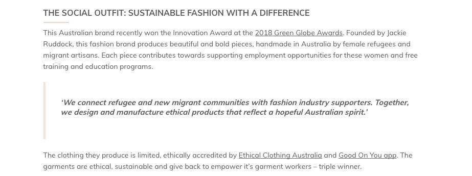 https://thegreenhubonline.com/2018/10/24/the-ethical-fashion-brands-giving-back-to-communities/
