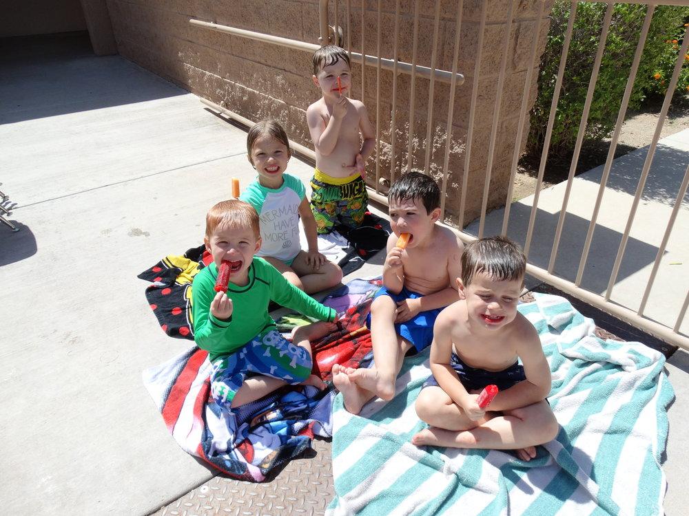 Water Day at La Casa Preschool