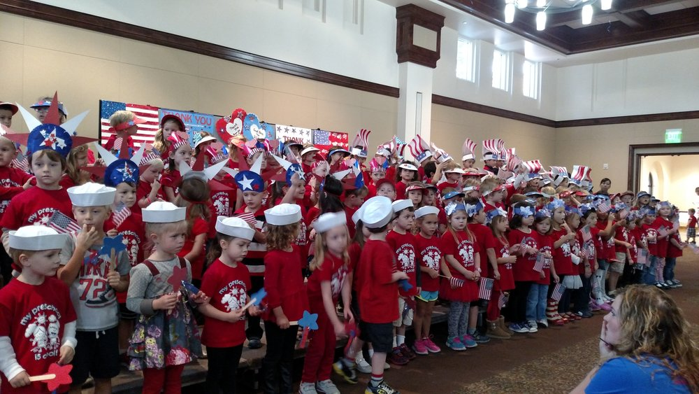 Patriotism Day at Preschool Music Class