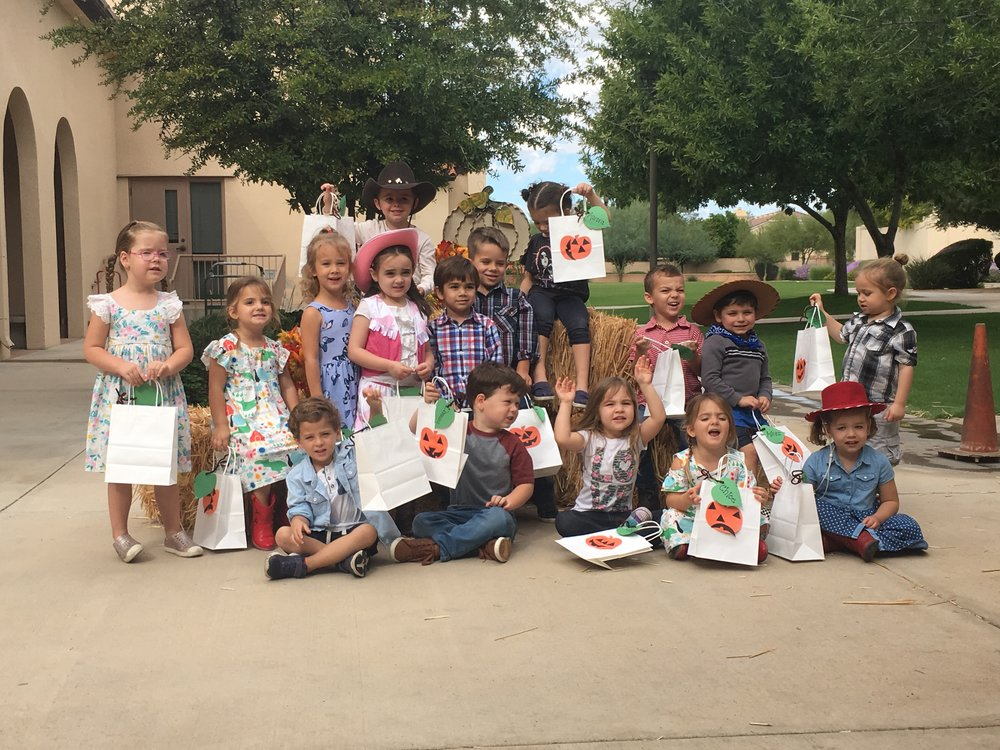 Preschool Class at Country Fair in Scottsdale