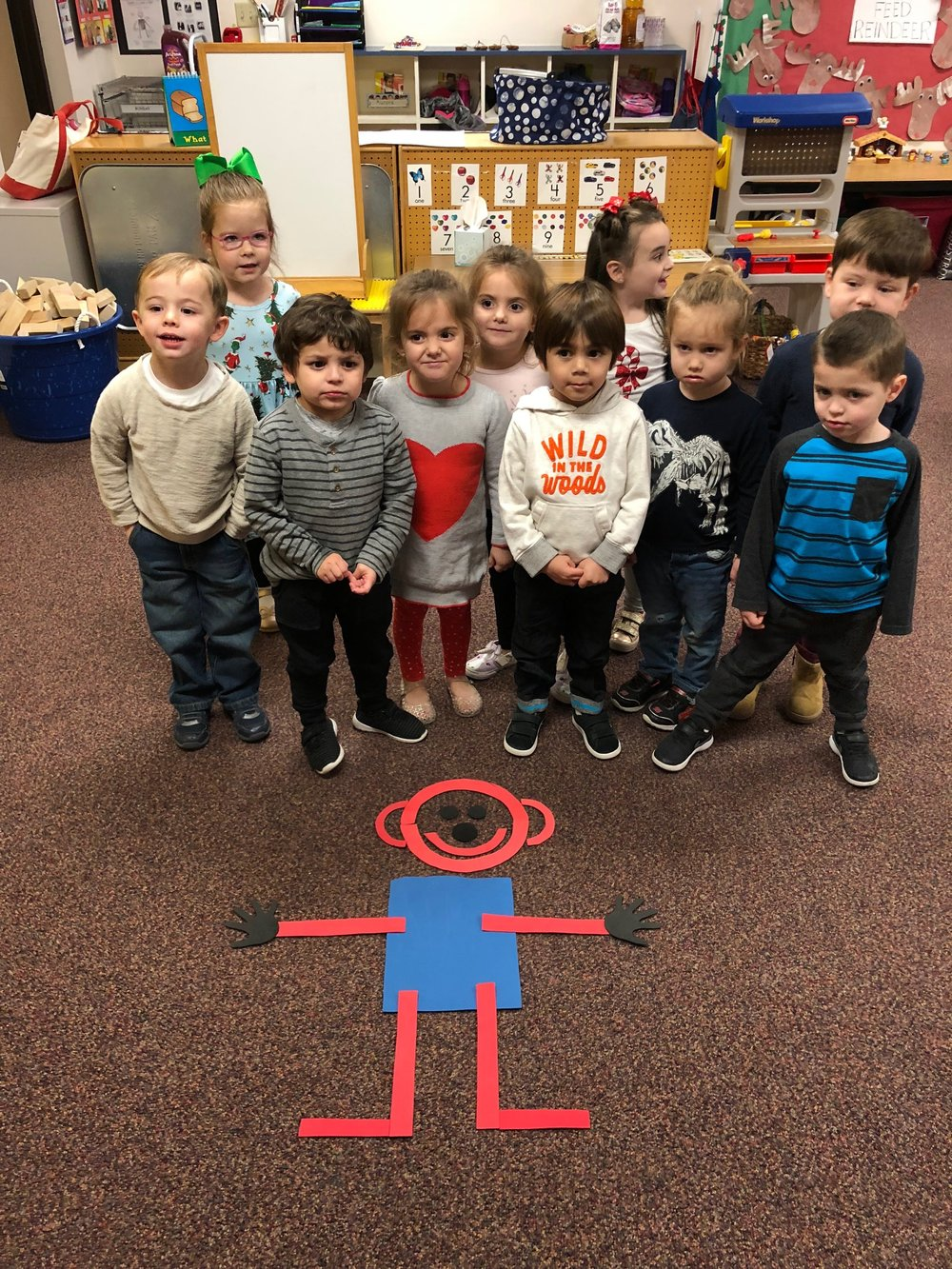 Mat Man at La Casa Preschool In Scottsdale