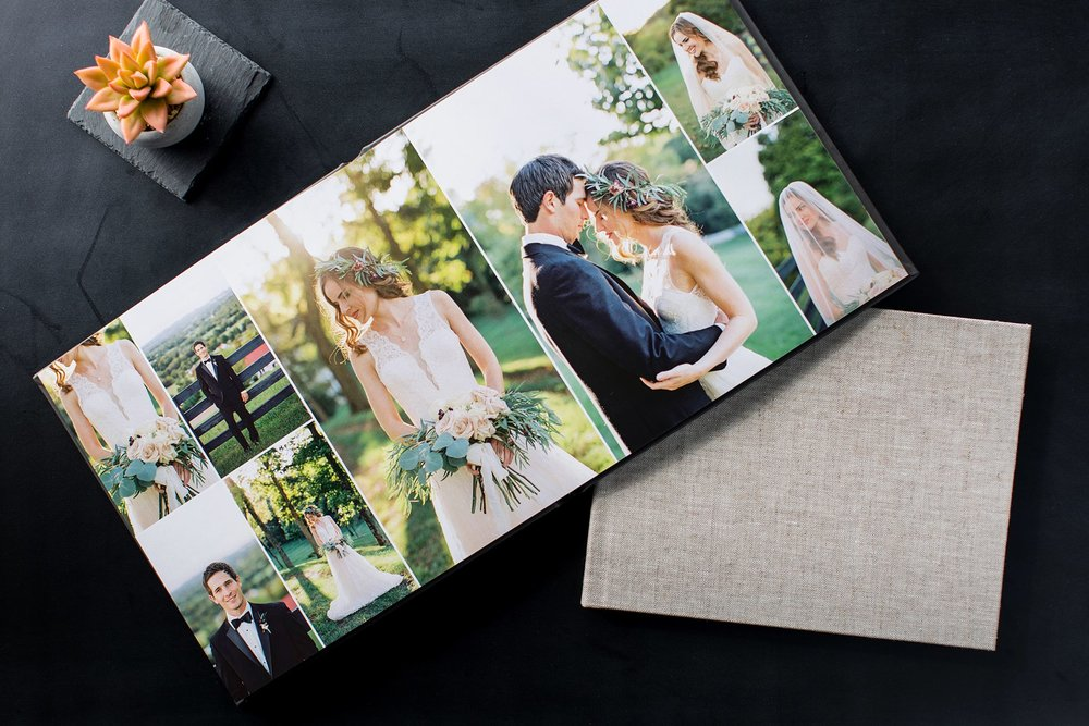 - Our gorgeous albums are handmade and carefully constructed by a team of skilled artisans. The pages are printed on archival paper that will last for hundreds or years and bounded by in stylish and unique covers.We work with you on the design of your album so it is exactly the way you want your great-grandchildren to see it!