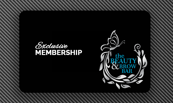 Exclusive Membership - To say thank you to our loyal clients, we offer exclusive memberships so you can receive discounts all year round! The Beauty & Brow Bar's Membership is $50/year & you will receive 10% off all services (excluding products & specials) plus receive access to members only promotions & rewards!