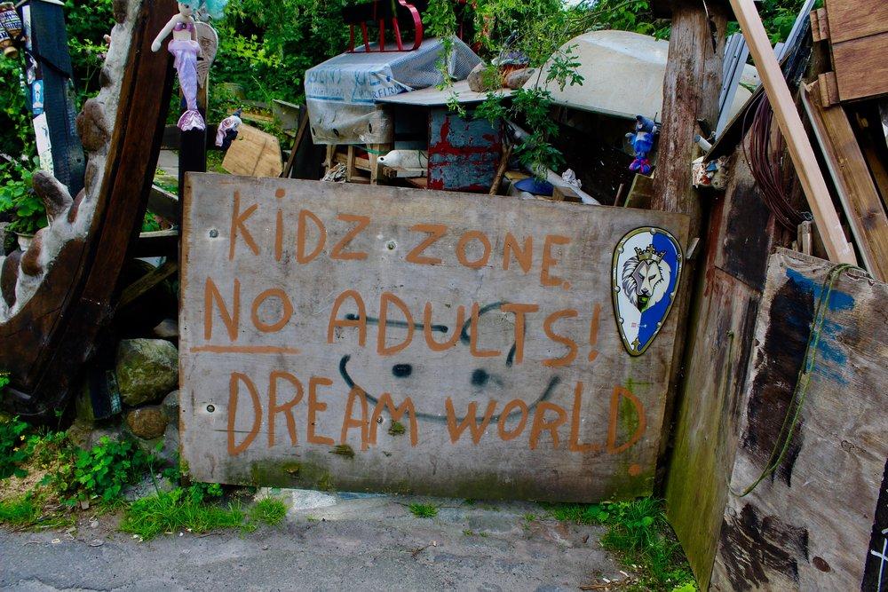 Christiania's KID ZONE
