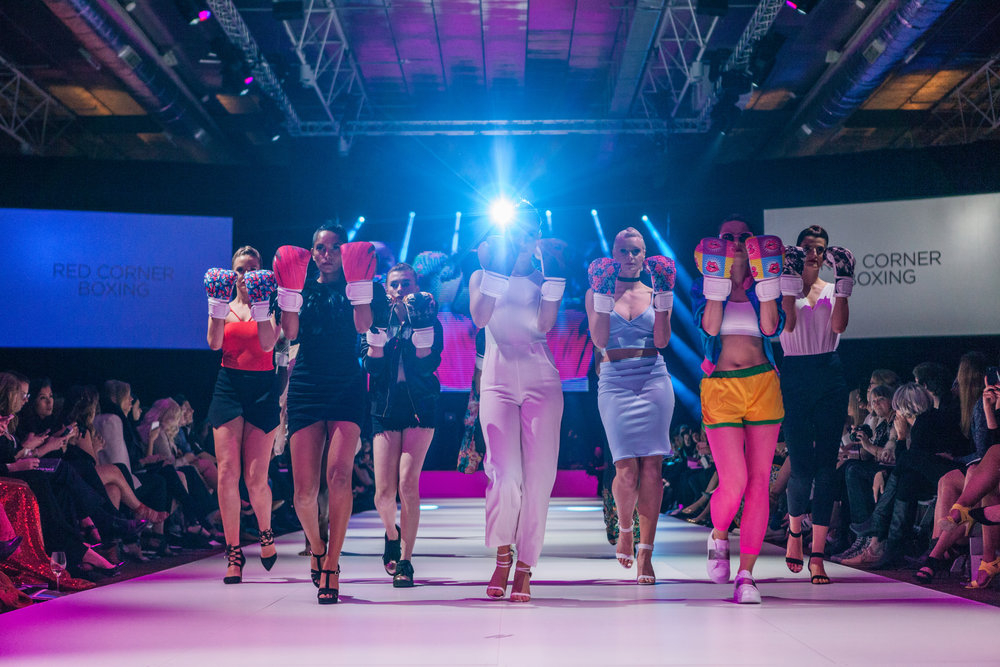Fashfest 2016 Canberra: Red Corner Boxing