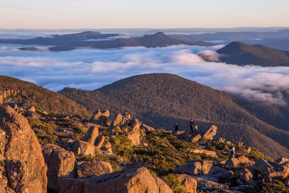 TAS18: Mount Wellington