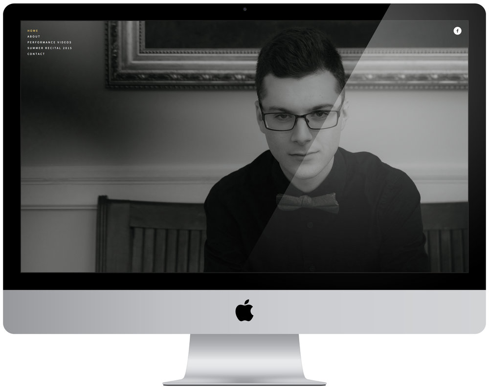 Eric Balboni - Portfolio management and organization, five page website creation.