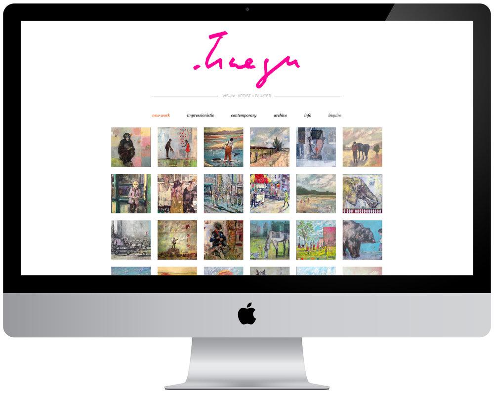 Traeger di Pietro - Logo design, portfolio management and organization, eight page website creation.