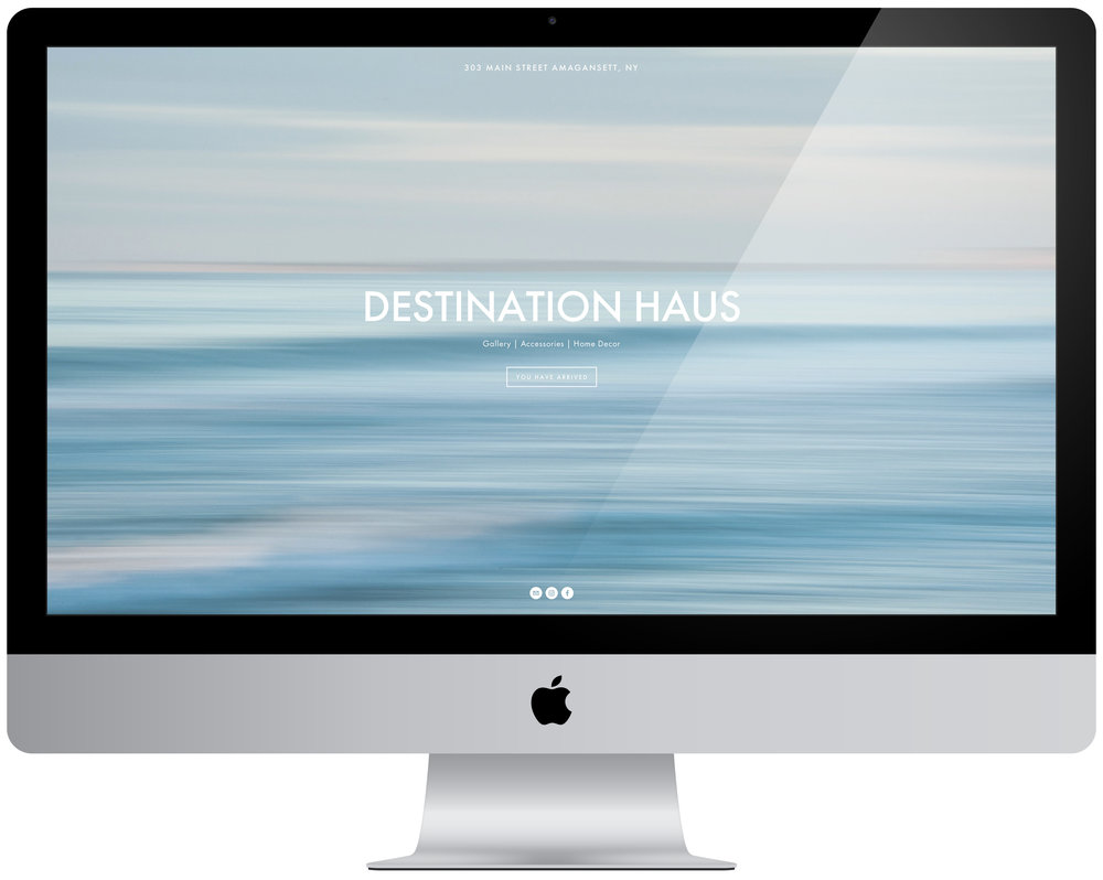 Destination Haus - Consultant brought in to oversee content management and organization, online store setup, gift registry integration.