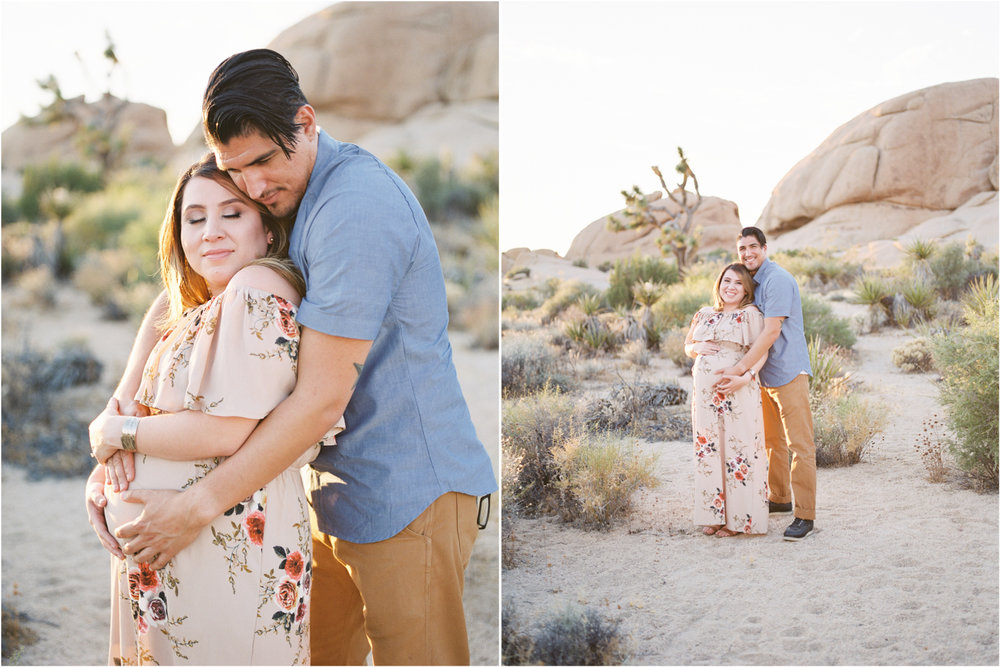 Fine Art Maternity | Joshua Tree Maternity Session | Maternity Inspiration | Joshu Tree Photographer | Fuji 400h | Pentax 645Nii | Richard Photo Lab | Alexis Ralston Photography2.jpg
