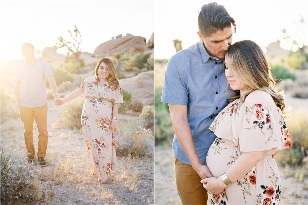 Fine Art Maternity | Joshua Tree Maternity Session | Maternity Inspiration | Joshu Tree Photographer | Fuji 400h | Pentax 645Nii | Richard Photo Lab | Alexis Ralston Photography4.jpg