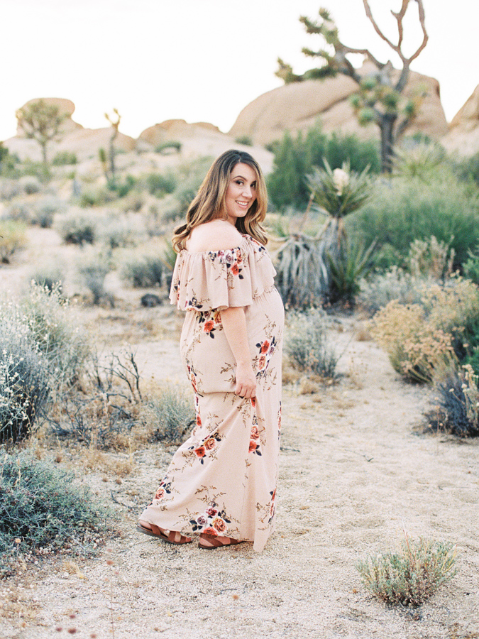 Fine Art Maternity | Joshua Tree Maternity Session | Maternity Inspiration | Joshu Tree Photographer | Fuji 400h | Pentax 645Nii | Richard Photo Lab | Alexis Ralston Photography014.jpg