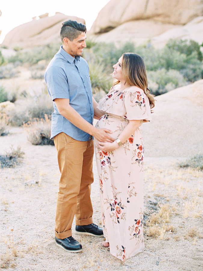 Fine Art Maternity | Joshua Tree Maternity Session | Maternity Inspiration | Joshu Tree Photographer | Fuji 400h | Pentax 645Nii | Richard Photo Lab | Alexis Ralston Photography019.jpg